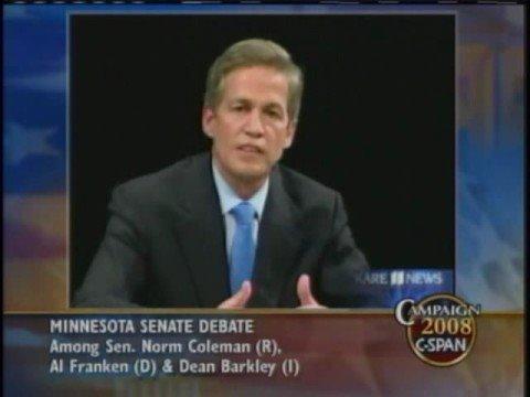 MN Senate Debate: Social Security Oct. 11, 2008