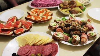 Что было На Нашем Новогоднем Столе Готовлю 8 Блюд ПП и не только Закупка Продуктов с Ценами