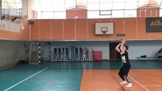 Видеоурок. Штрафные броски в баскетболе. Техника броска. [МИЭТ]