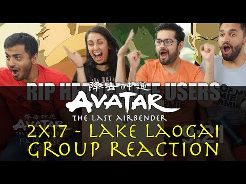 Avatar: The Last Airbender - 2x17 Lake Laogai - Group Reaction