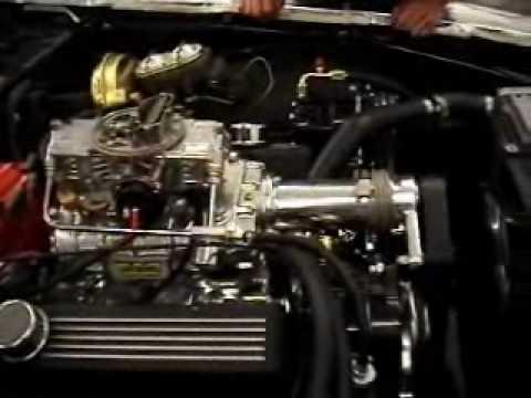 Camaro68 with Weiand 142 Blower  First Start
