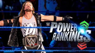 AJ Styles soars up the Power Rankings: WWE Power Rankings, Nov. 30, 2017