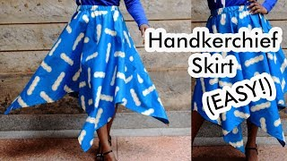 Easy Square (Circle) Skirt Tutorial // Step by Step