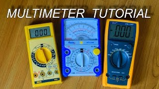How to Use a Multimeter | Best Tutorial for Beginners! (HD)