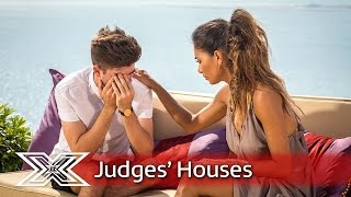 Nicole's reveal: Christian Burrows    Judges' Houses   The X Factor 2016