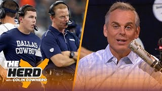 Steelers' season is over with Mason Rudolph, Colin blames Garrett for Cowboys' loss | NFL | THE HERD