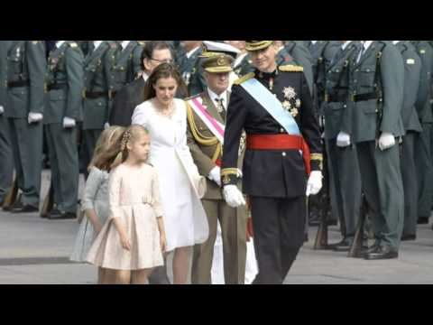 Modern King Felipe And Queen Take Throne of Spain