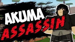 LA VIE d'UN AKUMA ASSASSIN - ROBLOX Shinobi Story Origin EP 1