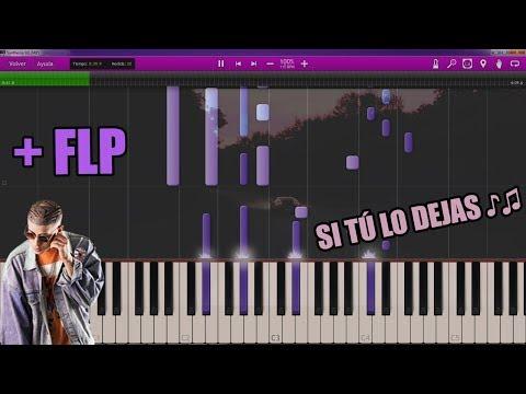 Si tú lo dejas (PIANO +FLP) - Rvssian Ft Bad Bunny X Farruko X Nicky Jam