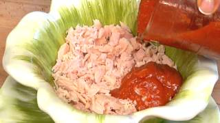 Dip With Tuna, Ketchup, Onion & Chili Powder : Healthy Sandwiches & Easy Sides