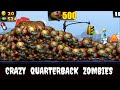 Zombie Tsunami:Lets Start With 500 Crazy Quarterbacks !
