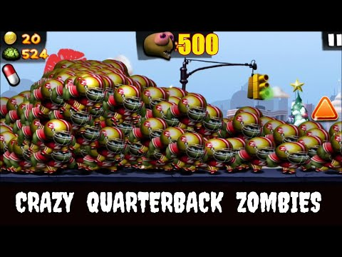 Zombie Tsunami:Lets Start With 500 Crazy Quarterbacks !