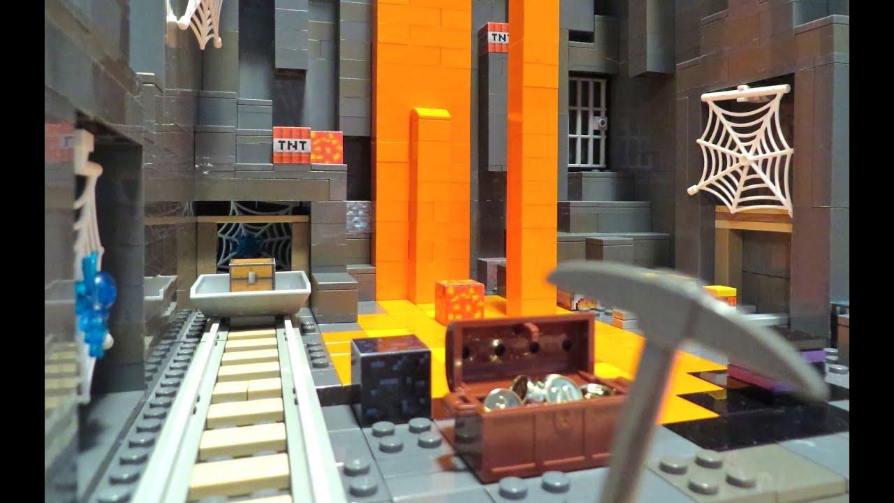 LEGO Minecraft Abandoned Mineshaft YouTube - Minecraft spielen lego