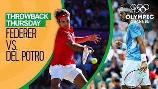 Roger Federer vs Juan del Potro | Semi-final London 2012 | Throwback Thursday