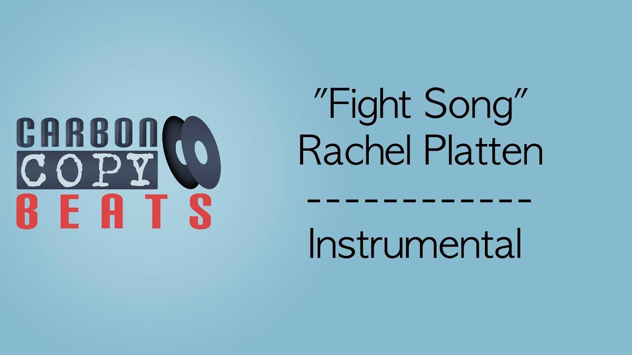 Fight Song - Instrumental / Karaoke (In The Style Of Rachel Platten)