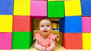 Indoor Playground Song - Nursery Rhyme by Maya and Mary