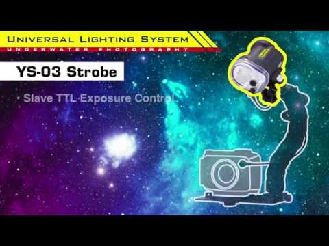 [NEW] SEA&SEA YS-03 Universal Lighting System