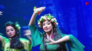 রুম ঝুম রুম ঝুম কে বাজায় ferdous ara nazrul geeti dance music video channel i