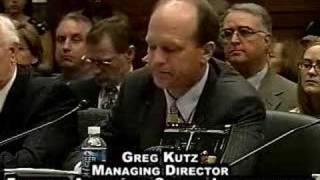 Boot Camp Hearing: Greg Kutz