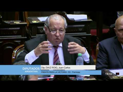 Diputado Diaz Roig Juan Carlos - Sesión 26-07-2017