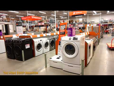 [4K] Walking Tour Of The Home Depot Hardware Store In Brampton Canada
