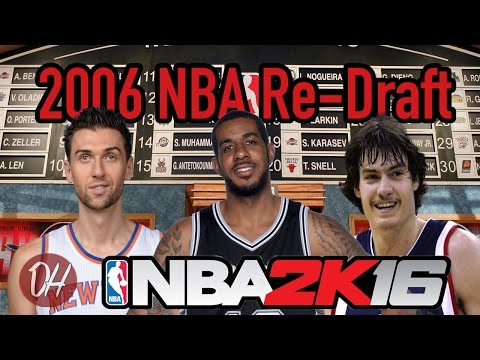Re-picking the 2006 NBA Draft.