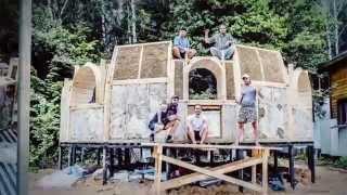 Как построить купольный дом из соломы - легко и просто!(, 2015-09-14T18:56:39.000Z)