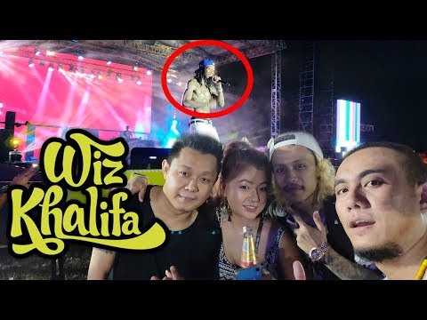 Wiz Khalifa  in Delhi Ft Inpui Freshers Meet 2019