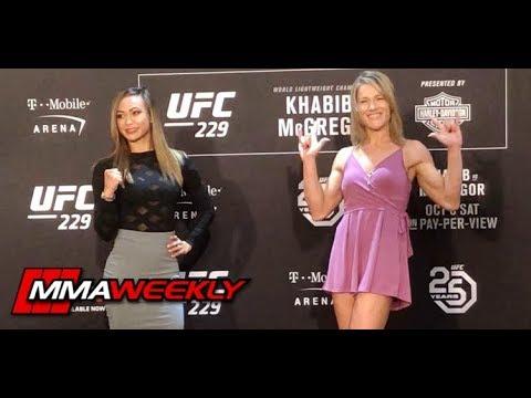 UFC 229: Khabib vs. McGregor Face-Offs at Media Day