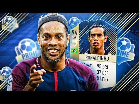 IKONA PRIME RONALDINHO! FIFA 18 DRAFT