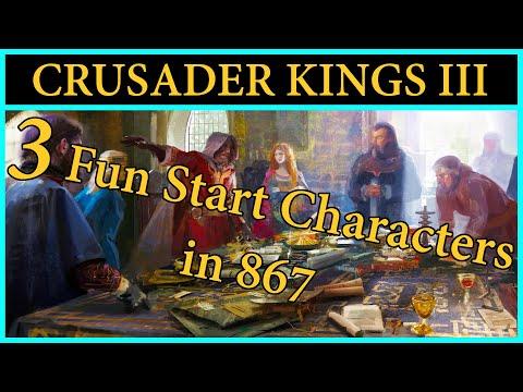 Fun Starting Characters in 867 | Crusader Kings 3 | Game Guides |