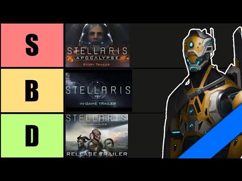 Ranking Stellaris Story Trailers |