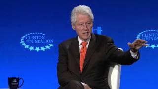 Closing Plenary - One on One Conversation with President Bill Clinton and Conan O'Brien - CGI U 2016