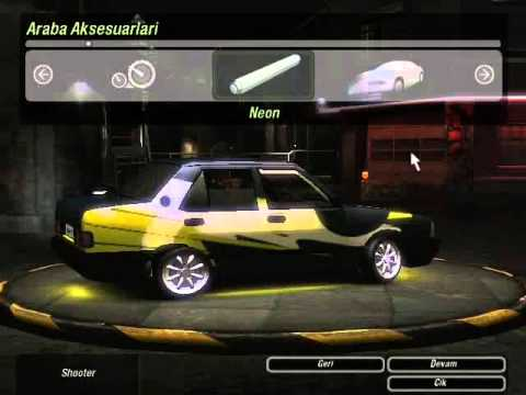 need for speed underground 2 tofas sahİn_byy ordulu - youtube