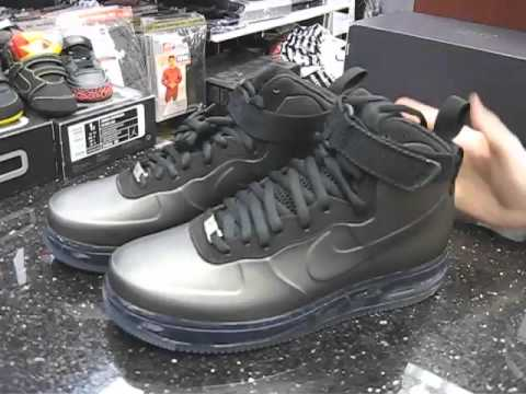 new product d5b5e 0f10d Nike Air Force 1 Foamposite Black at Street Gear, Hempstead NY