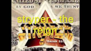 Watch Stryper The Reign video