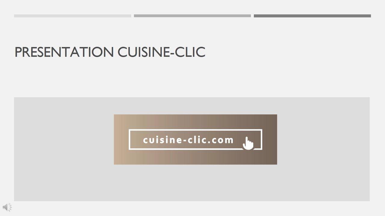 Le fonctionnement de cuisine clic youtube for 3d cuisine deluxe