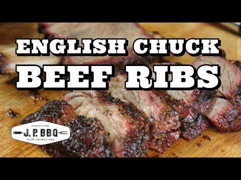 English Chuck Beef Ribs #jpbbq #beefribs #chuckbeefribs