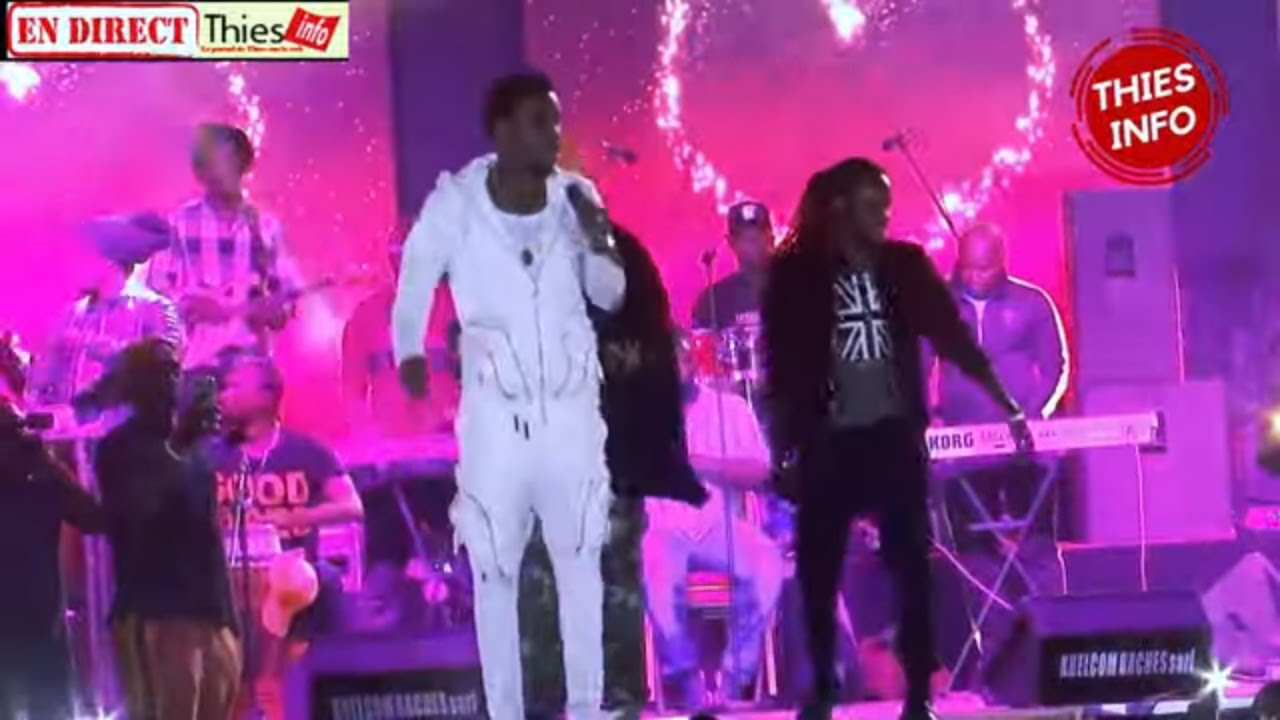 CONCERT DE WALLY SECK 24 DECEMBRE 2019 A THIES