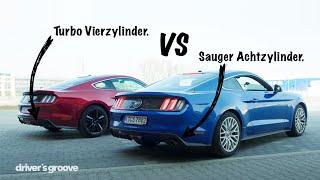 Ford Mustang GT vs Ecoboost, der große Vergleich!