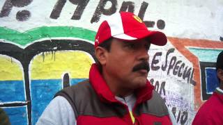HOSTIGANDO LA SALIDA DE AUTOBUSES DE VALLE DE CHALCO thumbnail