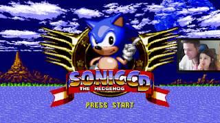 SONIC CD - Gameplay em Português PT-BR