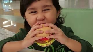 Adam at Shopping Mall |  Fun Kids Car Rides Kids videos | Ride Cars | P1