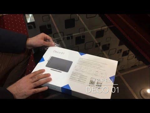 XP PEN Deco 01 QUICK UNBOXING