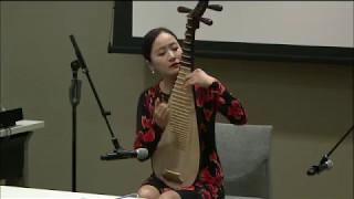中国青年琵琶演奏家马琳 庆祝联合国赴华汉语培训项目成功举办14周年