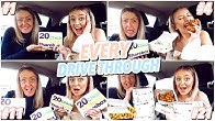Ordering 20 Chicken Nuggets from EVERY MCDONALD's In My County!!