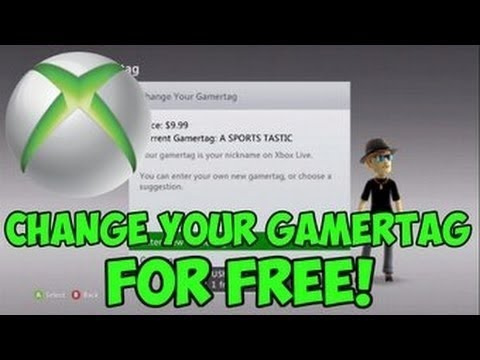 How To Change Your XBOX ONE GAMERTAG For FREE In 2019 ...