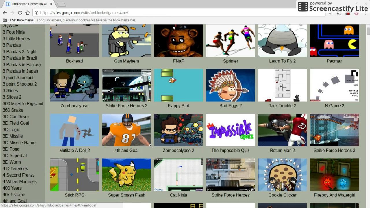 Random Games On Unblocked Games 66 Youtube