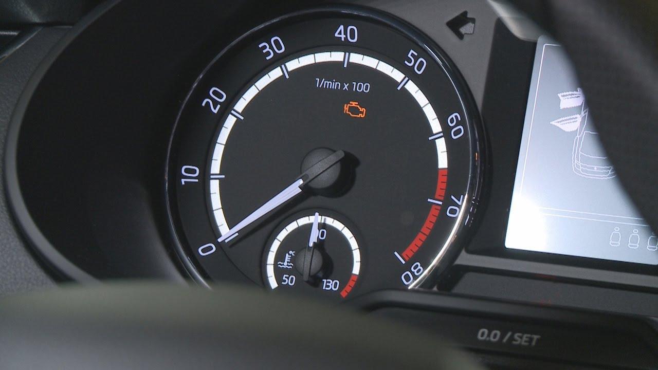 Wszystko przez gaz wieci si kontrolka check engine
