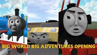 Big World Big Adventures Opening | Roblox Remake